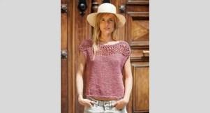 Tricoter un pull d'été sans modèle