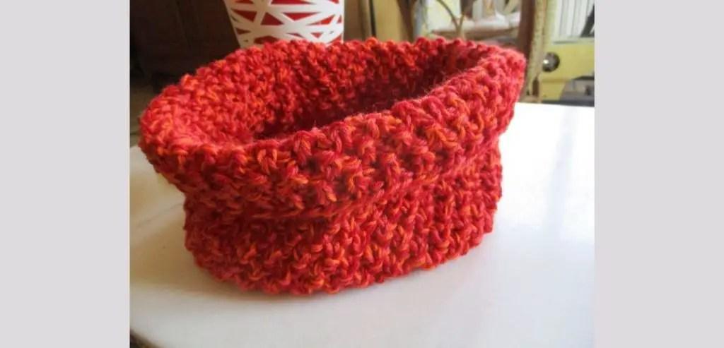 point blé au tricot facile