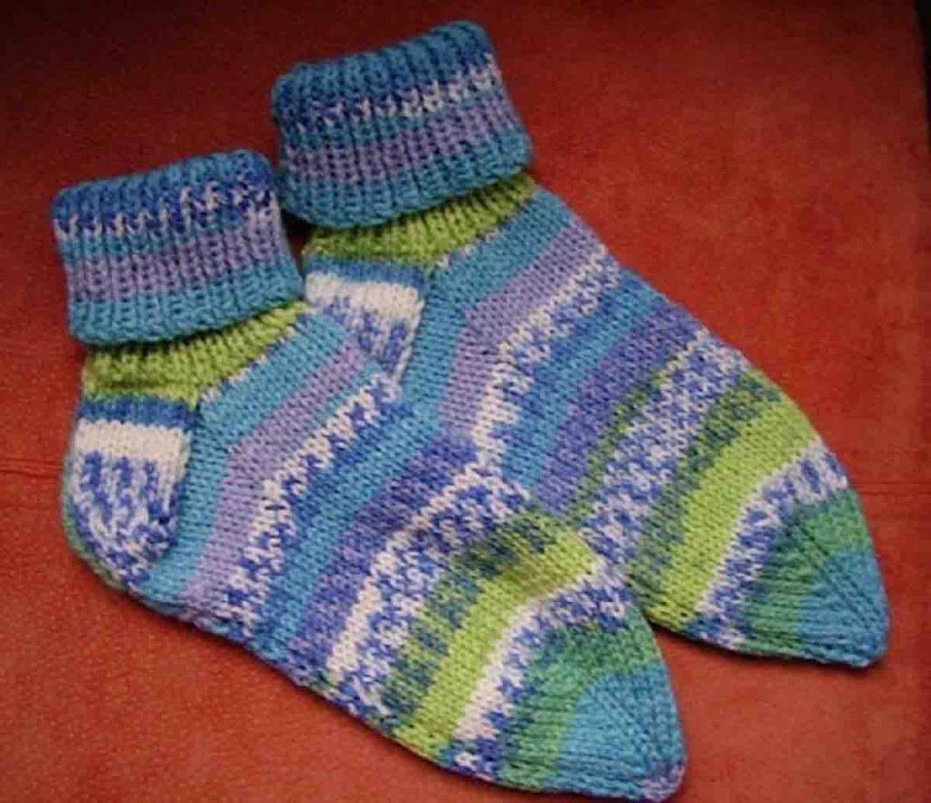 Chaussette en tricot facile