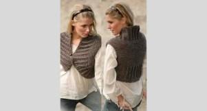 Boléro à tricoter pour femme