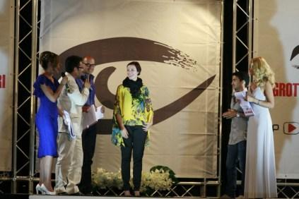 Stilista vincitrice secondo premio e premio Fidapa