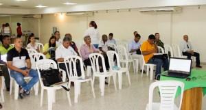 Imagen de la reunión realizada por los entes territoriales.