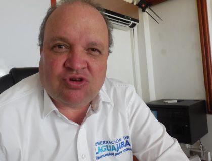 Jorge E. Vélez, gobernador encargado de La Guajira