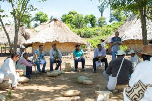 La socialización del proyecto la realizó Corpoguajira.