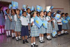 Los estudiantes de la Institución Educativa María Dolariza