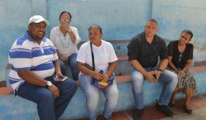 El secretario de Infraestructura y Servicios Públicos, Miguel Francisco Pitre Ruíz, dialogó con la familia educativa Las Américas y espera que en unos meses, los alumnos gocen de estas obras confortables.