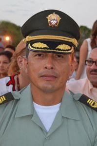 Tito Castellanos Tuay, comandante de Policía La Guajira