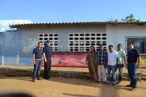 En una maratónica jornada de dos días la visita inició en Las Balsas, Juan y Medio y en el Distrito de Riohacha.