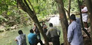 Aspecto de la travesía que realizaron miembros de agencias de viajes, quienes recorrieron gran parte de Montes de Oca.