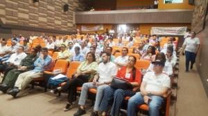 Dirigentes políticos, diputados, concejales y personalidades de La Guajira, asistieron para escuchar la socialización, acuerdos y medidas adoptadas para prevenir delitos electorales en La Guajira.