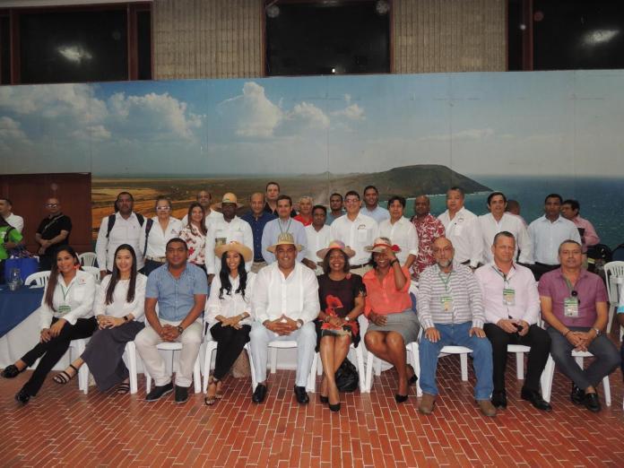 Esta es la delegación de La Guajira que se encuentra en Curazao