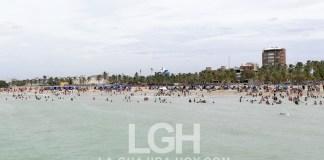 Playa de Riohacha.