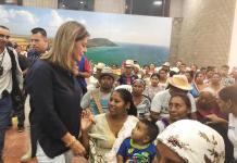 La vicepresidenta Martha Lucía Ramírez, ha visitado al Departamento en tres oportunidades, pendiente de ayudarle a solucionar sus problemas.