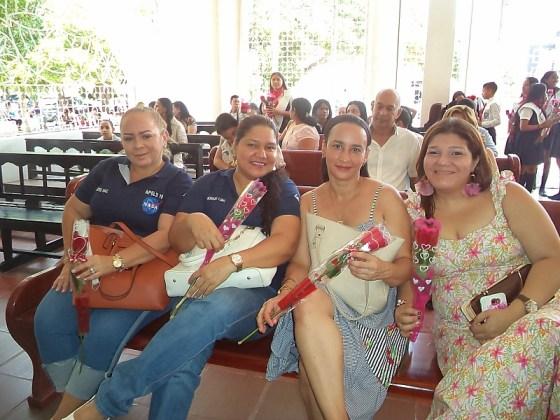 Yolima Acosta, Jackeline Medina, Nancy Maz, Karen Lubo.
