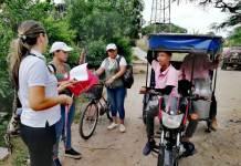 Casa a casa, en San Juan del Cesar siguen atacando al mosquito que trasmite el Dengue.