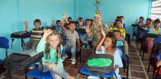 Con una inversión de 30 mil dólares aportado por la Embajada de los Estados Unidos, mientras que el Ejército colombiano aportó la mano de obra y los diseños del proyecto y la comunidad el lote.
