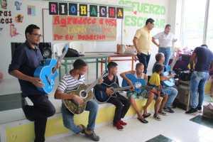 Con una muestra cultural fueron recibidas las donaciones que le hicieron a la Casa lúdica de la Comuna 7 de Riohacha.