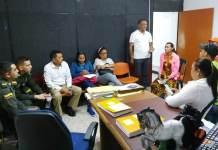 El secretario de Gobierno del municipio de Maicao, se reunió con un delegado de la comunidad Trans y se decidió que deben desocupar el lugar.