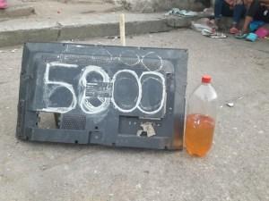 Esta es la venezolana que llega a Maicao de contrabando.