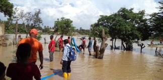 Jagüey de Bocagrande totalmente desbordado afectó a los vecinos