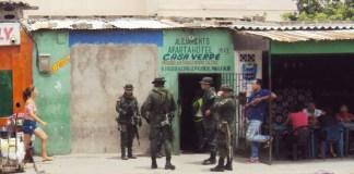 Operativos en diferentes lugares de Maicao.