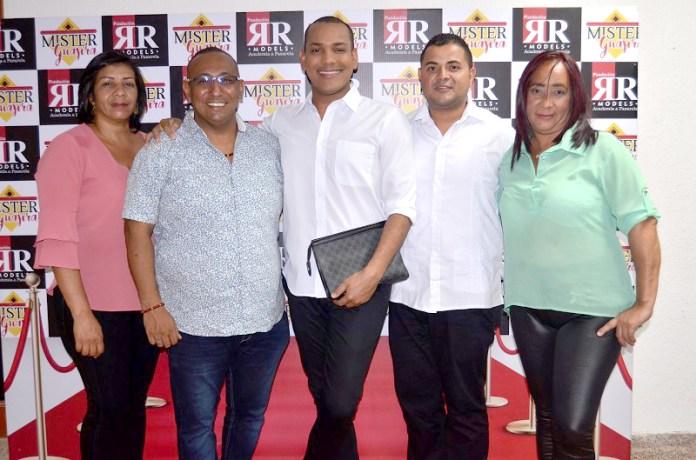 Eleidys Zubiría, Rene Lindarte, Luis Freyle, David Rodríguez y Yolani Pana.