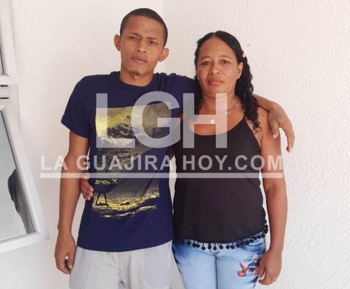 Rosa María Romero y su Luis Alfredo Ortega Daza, después de muchas tristezas viene la alegría.