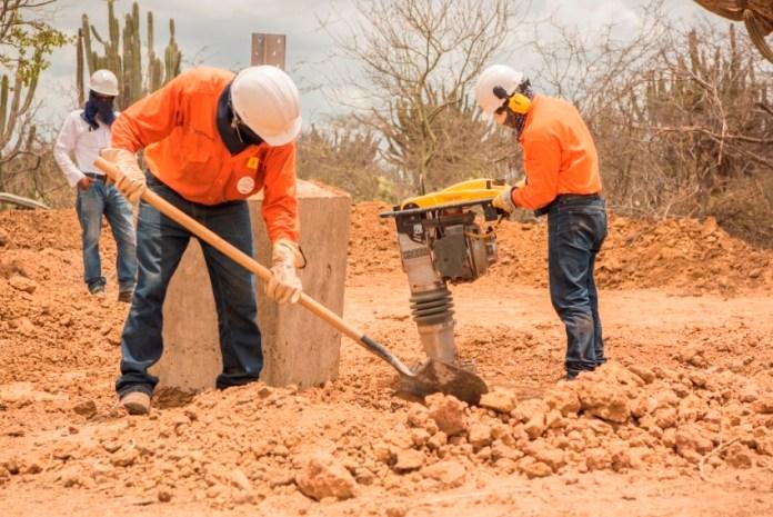 Comenzó el proyecto de la construcción del anillo eléctrico que unidad a Riohacha con Maicao.