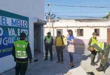 En diferentes sectores de Riohacha, funcionarios de la Alcaldía y la Procuraduría realizaban operativos contra publicidad política anticipada.