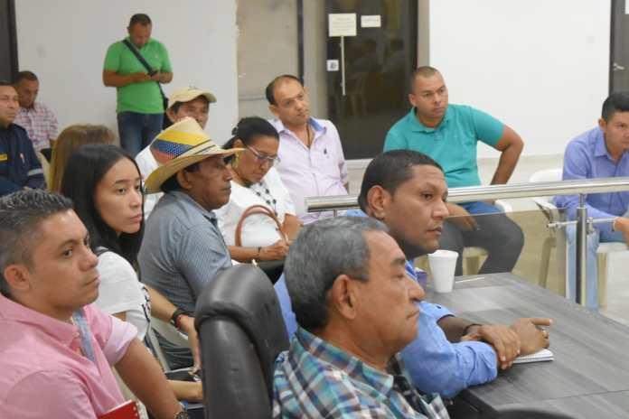 Esta reunión se realizó en Fonseca en la mañana de este viernes.