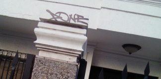 Estas son las letras que dejan marcadas las viviendas en Maicao.