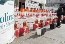Han sido varios los decomisos los que ha realizado la Polfa en La Guajira.