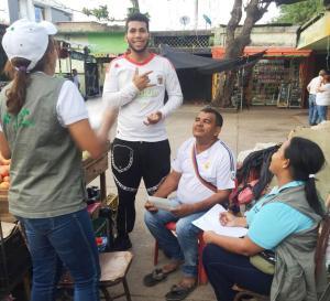Las jornadas de salud, se desarrollaron acciones de educación y comunicación, a trabajadores formales e informales del municipio de San Juan del Cesar.
