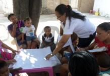 Los talleres son realizados por la Dimensión de Seguridad Alimentaria y Nutricional