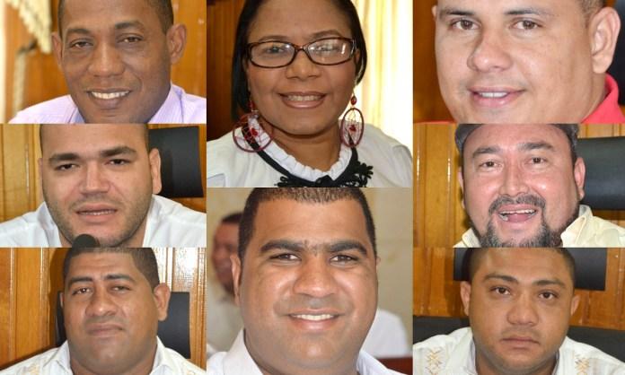 Algunos de los candidatos al Concejo de Riohacha.