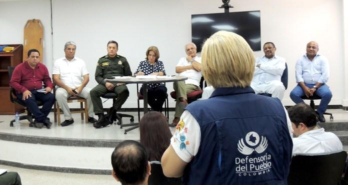 Autoridades buscan solución a la problemática carcelaria que  se vive en el departamento de La Guajira.