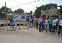 El Alcalde de Riohacha, socializó con los moradores del barrio Las Tunas, el inicio de los trabajos de Optimización de redes de alcantarillado sanitario en los barrios Las Tunas, Los Deseos, Luis A. Robles, 15 de Mayo, Centro y Padilla.