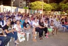 En el parque Nicolás de Federmann se llevó un cine foro a cielo abierto en el marco del día internacional contra la trata de persona donde se extendió el mensaje de la campaña 'guajira sin trata'.
