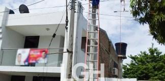 Este poste lo cambió la empresa Electricaribe, después que este medio de comunicación denunciara la anormalidad.