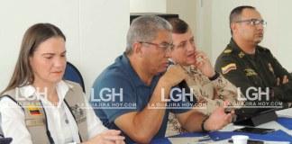 El Quinto Comité de Seguimiento Electoral descentralizado, presidido por el gobernador (e) Jhon Fuentes Medina, se realizó en el municipio de Dibulla.