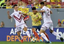 Los guajiros Luis Díaz y Álvaro Montero, siguen sumando minutos con la selección Colombia