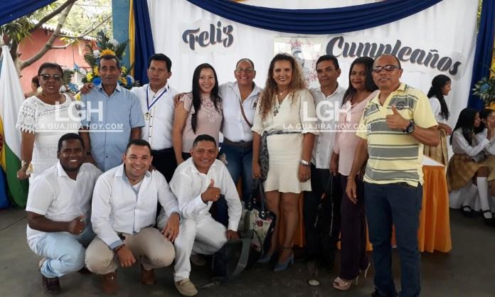 Muchos de los egresados, quienes hoy se desempeñan en cargos de relevancia, fueron homenajeados en el marco de los 100 años del natalicio de Isabel María Cuesta González.