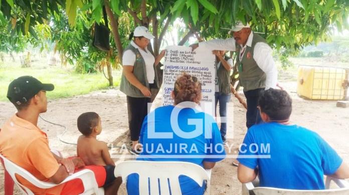 Se continúa realizando talleres educativos sobre Brucelosis Bovina a propietarios y administradores de finca, en el municipio de San Juan del Cesar.