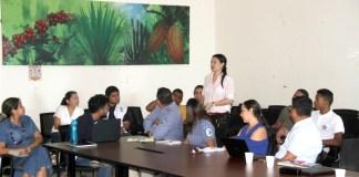 Aspecto de la reunión sobre el cambio climático en Riohacha.