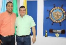 En la mañana de este jueves se reunieron en el despacho del alcalde de Riohacha, Juan Carlos Suaza Movil, actual mandatario y José Ramiro Bermúdez Cotes, alcalde electo, con el propósito de planear lo que será el proceso de empalme.