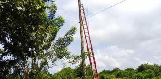 Tres mil metros de cable ecológico, el cual es amigable con el medio ambiente, instaló Electricaribe en el municipio de Dibulla.
