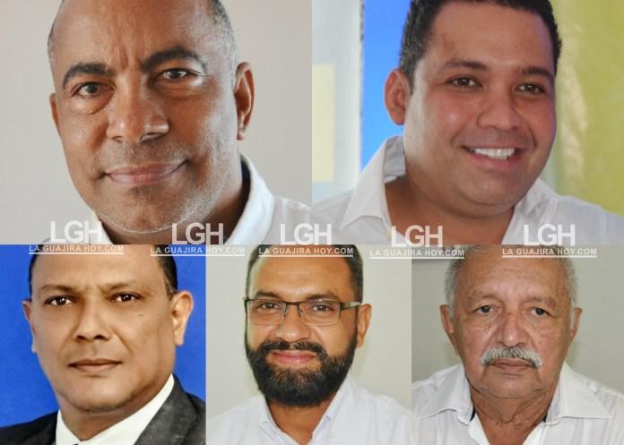 Delay Magdaniel Hernández, Nemesio Roys Garzón, Fabián Fragoso Hani, Luis Fernando Guerrero Mercado, Armando Pérez Araujo.