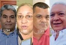 Jhon Eduardo Fuentes Medina, Soraya Escobar, Carlos Arturo Robles Julio, Víctor Deluque Escobar.