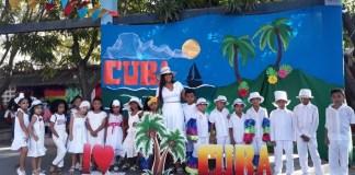Estudiantes Isabelistas expusieron diversidad cultural durante celebración de la Feria Empresarial