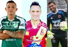 Gabriel Fuentes, Carlos Mario Rodríguez, Anderson Plata, Álvaro David Montero Perales, Luis Fernando Miranda.